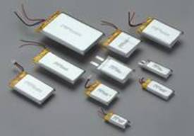 Rechargeable Li-Polyment Batteries